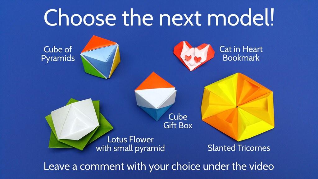 Origami Cactus & Flower Tutorial - DIY - Paper Kawaii - YouTube   576x1024