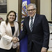 Secretary General Meets with Minister of Justice of Peru