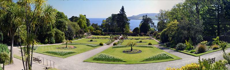 brodick castle  walled garden