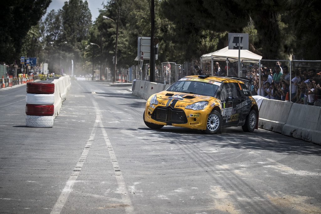 08 TSOULOFTAS Alexendros (cyp) and GIRAUDET Denis (fra) ALEXANDROS TSOULOFTAS CITROEN DS3 R5 action during the 2017 European Rally Championship ERC Cyprus Rally,  from june 16 to 18  at Nicosie, Cyprus - Photo Gregory Lenormand / DPPI