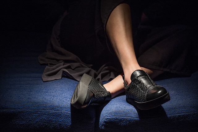 Style research and quality in the total black sneaker