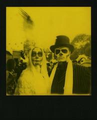Yellow Muertos Couple