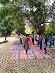International Yoga Day - 2017 Celebration at Vee Technologies