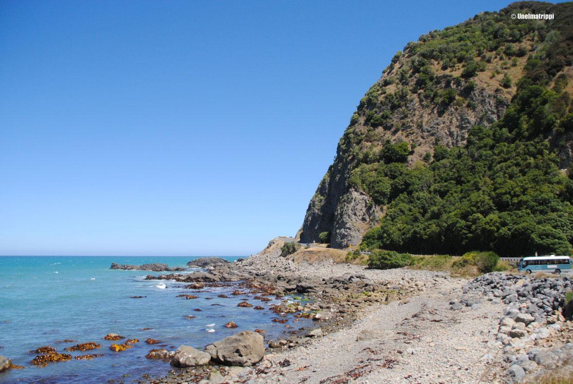 Rantanäkymä, Kaikoura, Uusi-Seelanti