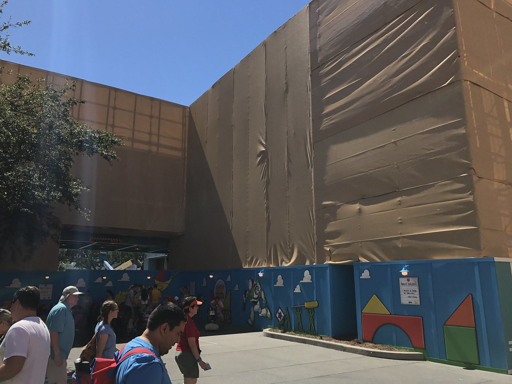 Toy Story Land Construction, Disney's Hollywood Studios