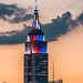 Williamsburg view of Manhattan Empire State Building in red, white and blue 3 by NYC♥NYC