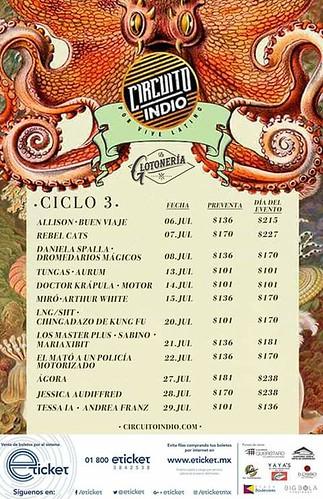 Ciclo TRES Circuito Indio