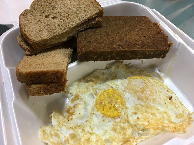 Scrapple and eggs - Dutch Eating Place