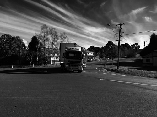 VOLVO of Dawson's at Black Springs NSW, In B&W