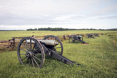 Confederate Battery at Pea Ridge