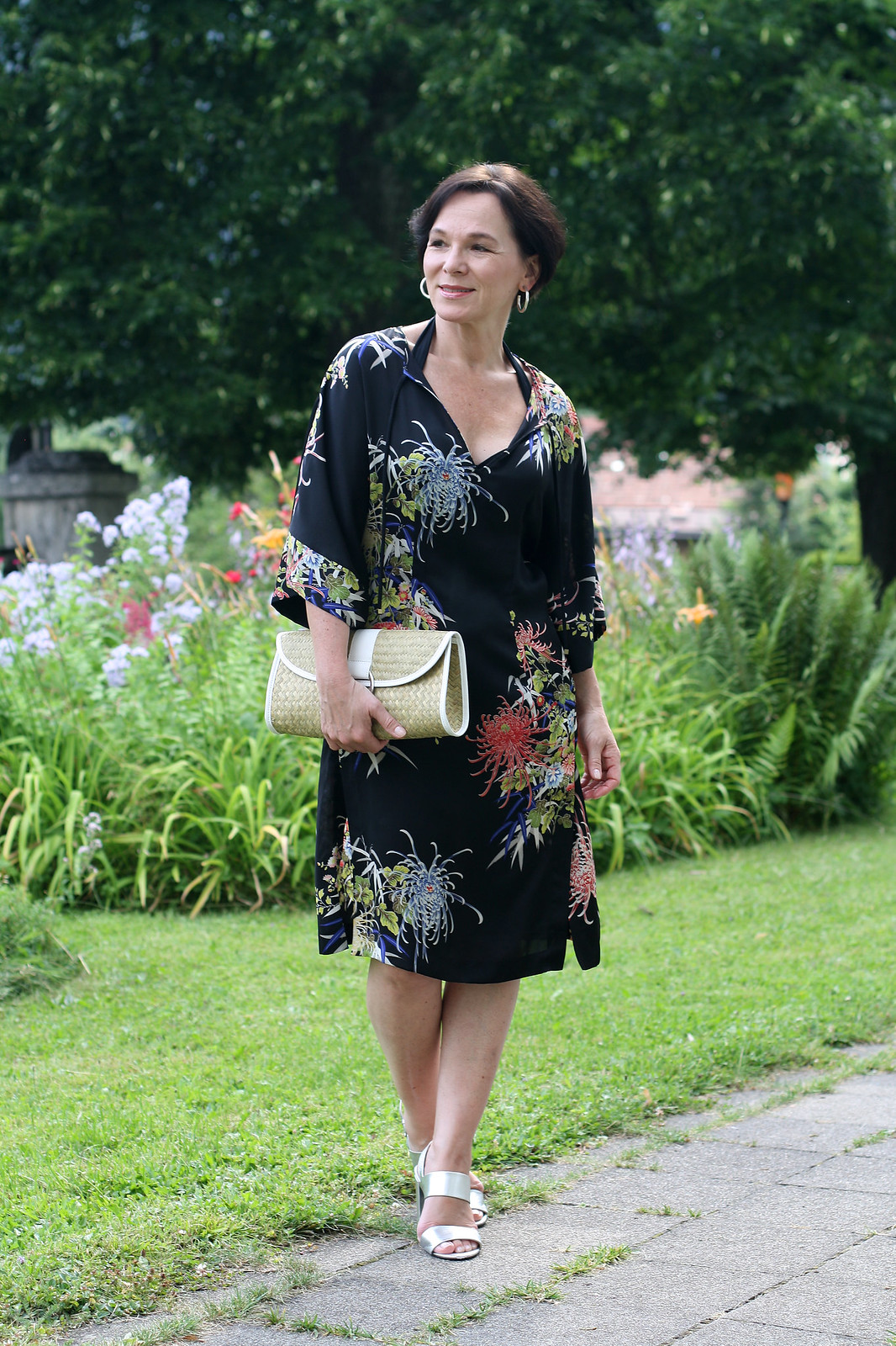 Tropical Flower Summer Dress LadyofStyle
