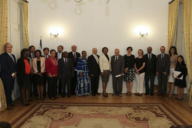 Secretária Executiva da CPLP reúne com Observadores Associados