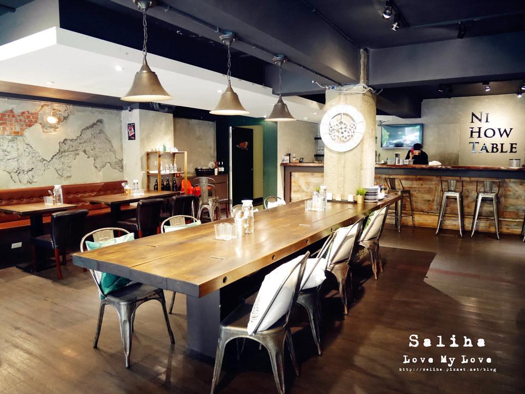 台北松山區八德路餐廳推薦NI HOW TABLE 你好餐桌 (2)