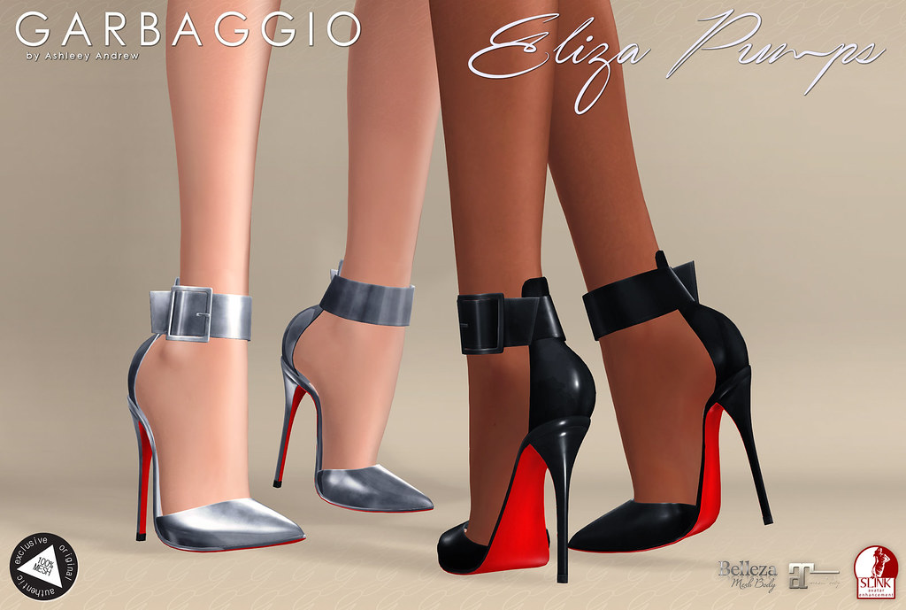 Eliza Pumps - SecondLifeHub.com