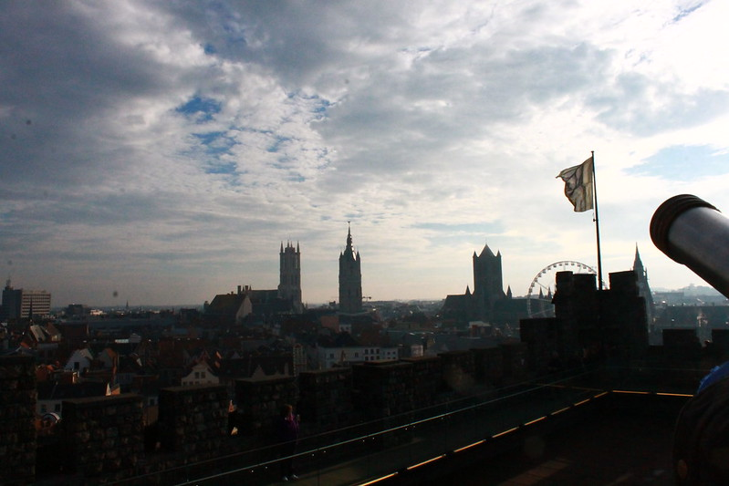 Tres torres de Gante