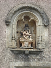 Rue Saint-Dominique and Rue du Trop Chaud, Flavigny-sur-Ozerain - sculpture - Photo of Boux-sous-Salmaise