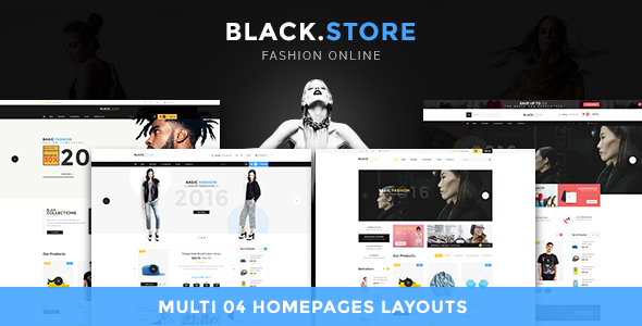 Ves Blackstore v1.0 – Magento 2 Template With Pages Builder