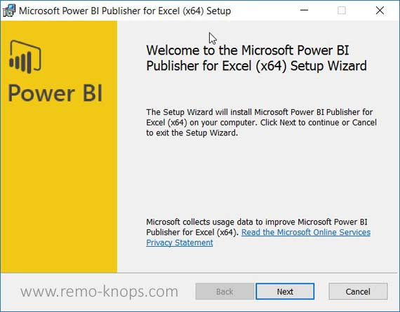 Power BI Publisher for Microsoft Excel 118
