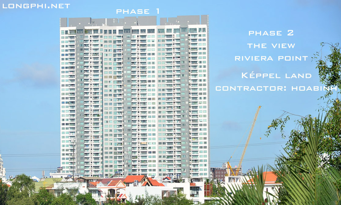 Phase 1 and Phase 2: The View - Riviera Point by Képpel Land, contractor: HoaBinh cons.