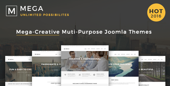 Mega v1.2 – Responsive Multi-Purpose Joomla Theme