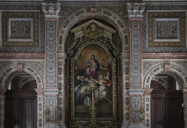 The sacristy - Igreja de São Vicente de Fora (Church of São Vicente of Fora)