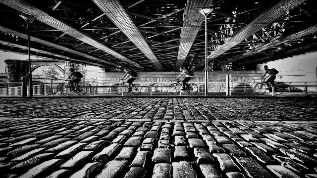 The Cyclist, Olympus E-M1, Lumix G Vario 7-14mm F4.0 Asph.