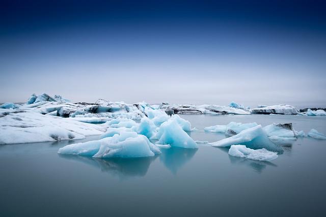 Jökussarlon Gletscherlagune