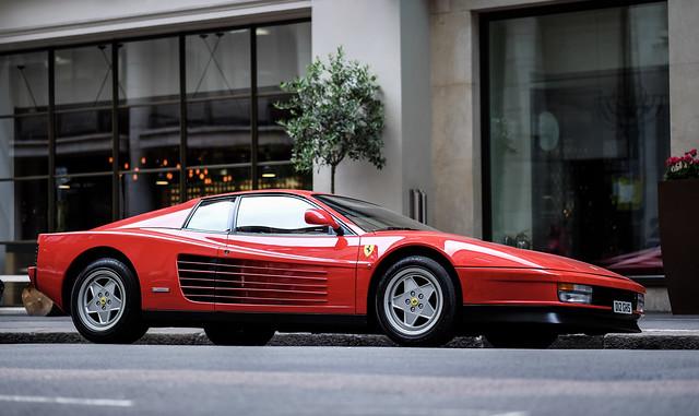 Ferrari Testarossa | Boyhood Dreams