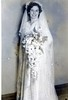 Niven (nee Taber) Marge 1946 Wedding day