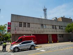 FDNY Firehouse Engine 222 and Battalion 37, Bedford-Stuyvesant, Brooklyn, New York City