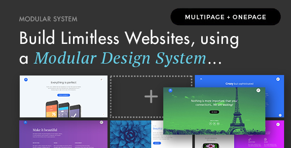 Modular v1.3 - Multi Concept Agency Business Theme