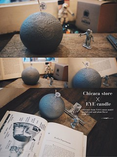 CHICACA × EYE Candle【月球蠟燭】Moon Candle 我的一小步,是人類的一大步!!