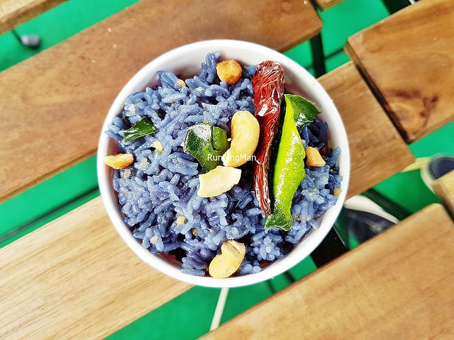 Butterfly Pea Flower Sticky Rice