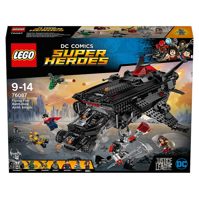 LEGO 76085、76086、76087 DC 超級英雄系列《正義聯盟》Justice League