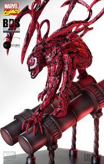 殘暴成性的血紅惡魔!!Iron Studios Battle Diorama 系列【屠殺】Carnage BDS Art Scale 1/10 比例決鬥場景作品