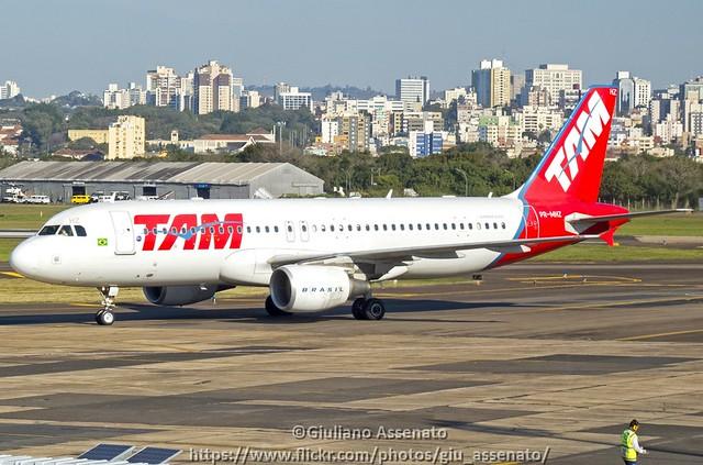 LATAM Airlines Brasil PR-MHZ Airbus A320-214 - cn 3658