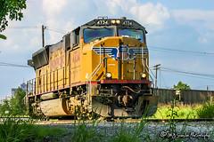 UP 4734   EMD SD70M   CN Memphis Subdivision