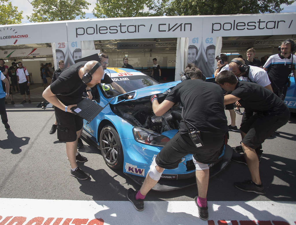 GIROLAMI Nestor (arg) Volvo S60 Polestar team Polestar Cyan Racing ambiance portrait during the 2017 FIA WTCC World Touring Car Championship race of Portugal, Vila Real from june 23 to 25 - Photo Gregory Lenormand / DPPI