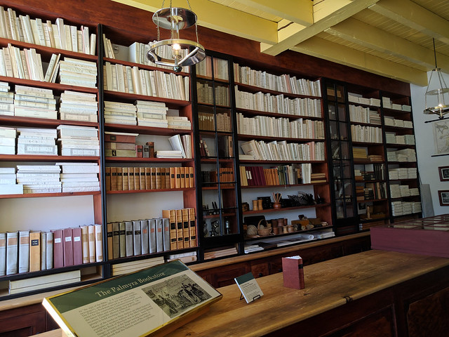 Example of 1800s book store