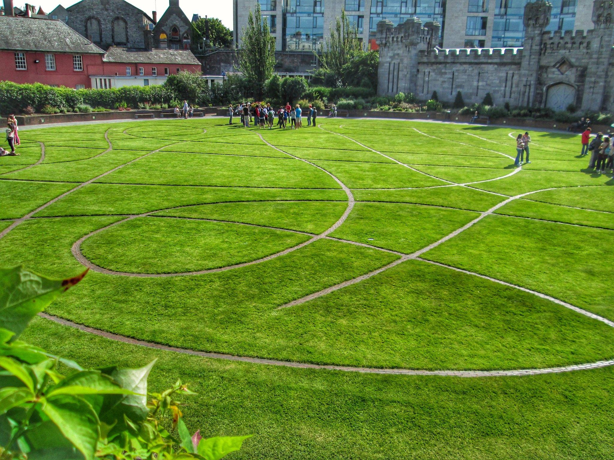Dublin Castle Lawn