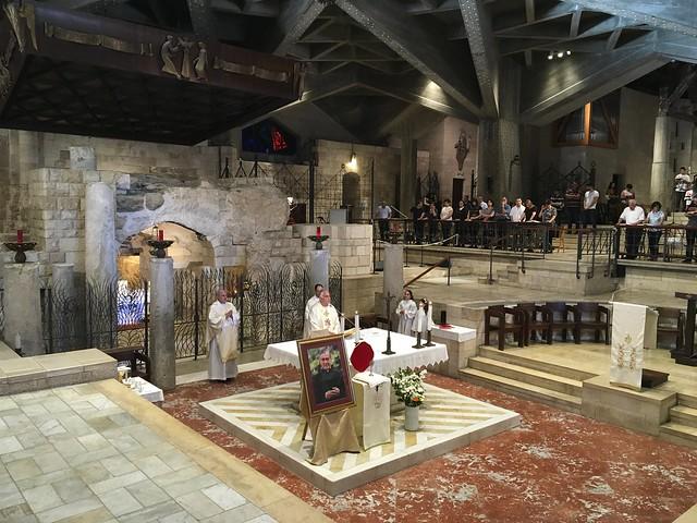 於其他國家在2017年聖施禮華慶日舉行的感恩祭