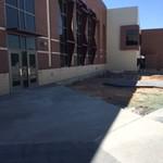 West side of school