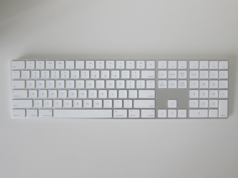 Apple Magic Keyboard with Numeric Keypad « Blog | lesterchan.net