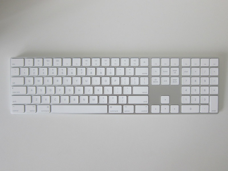 Apple Magic Keyboard with Numeric Keypad - Front