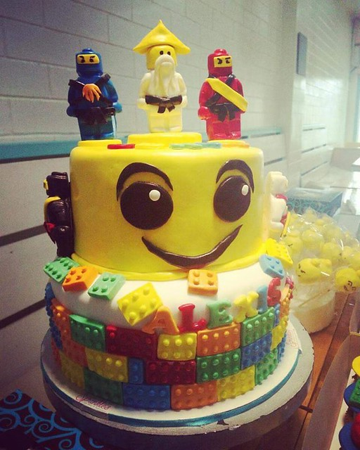 Lego Themed Cake from Sprinkles Cakeshop & Restaurant by Mhay's Kitchen