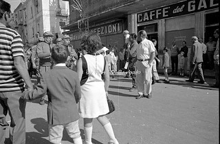 Barra (NA), 1974, Festa dei Gigli.