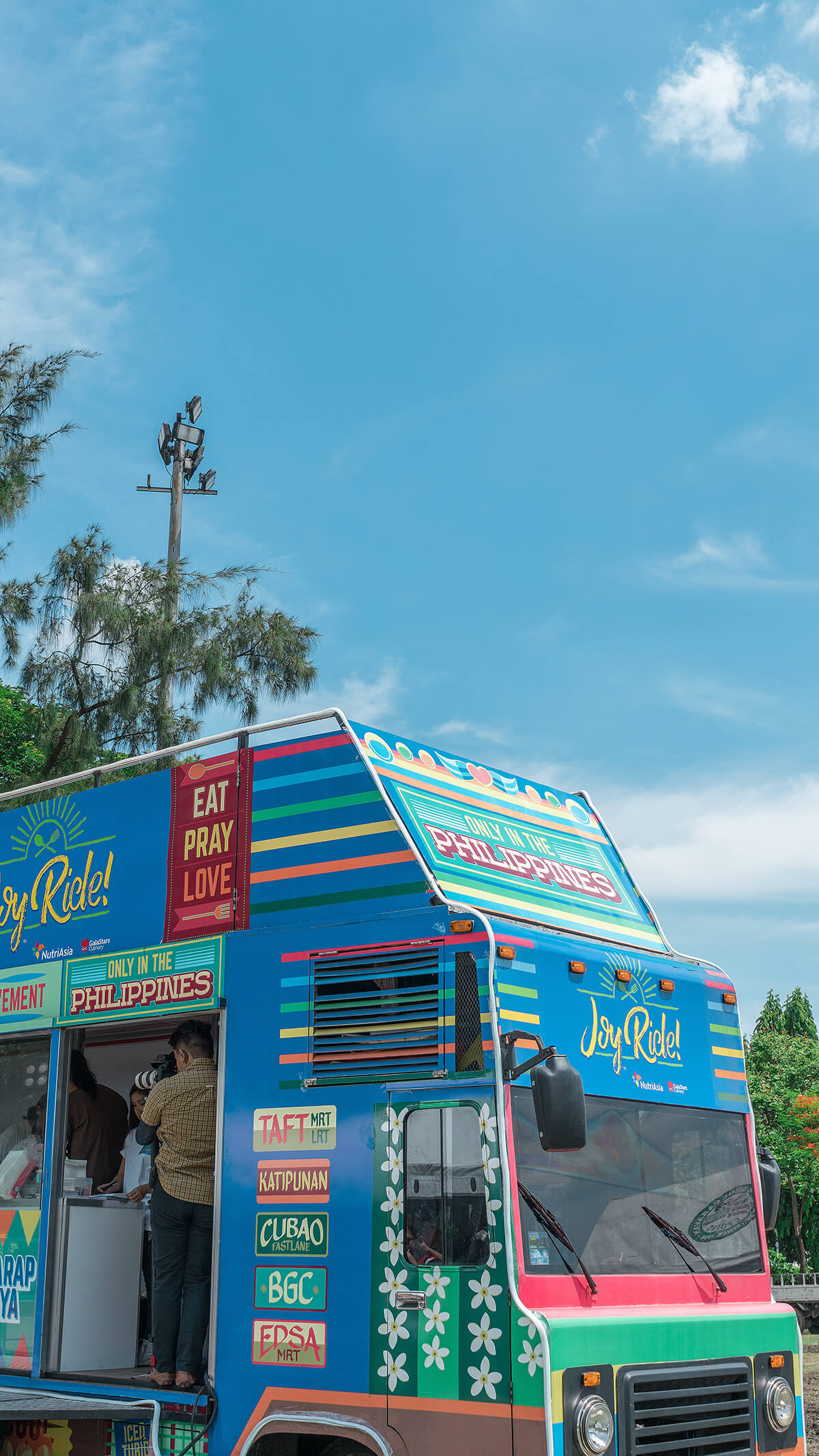 Joy Ride! Food Truck by NutriAsia