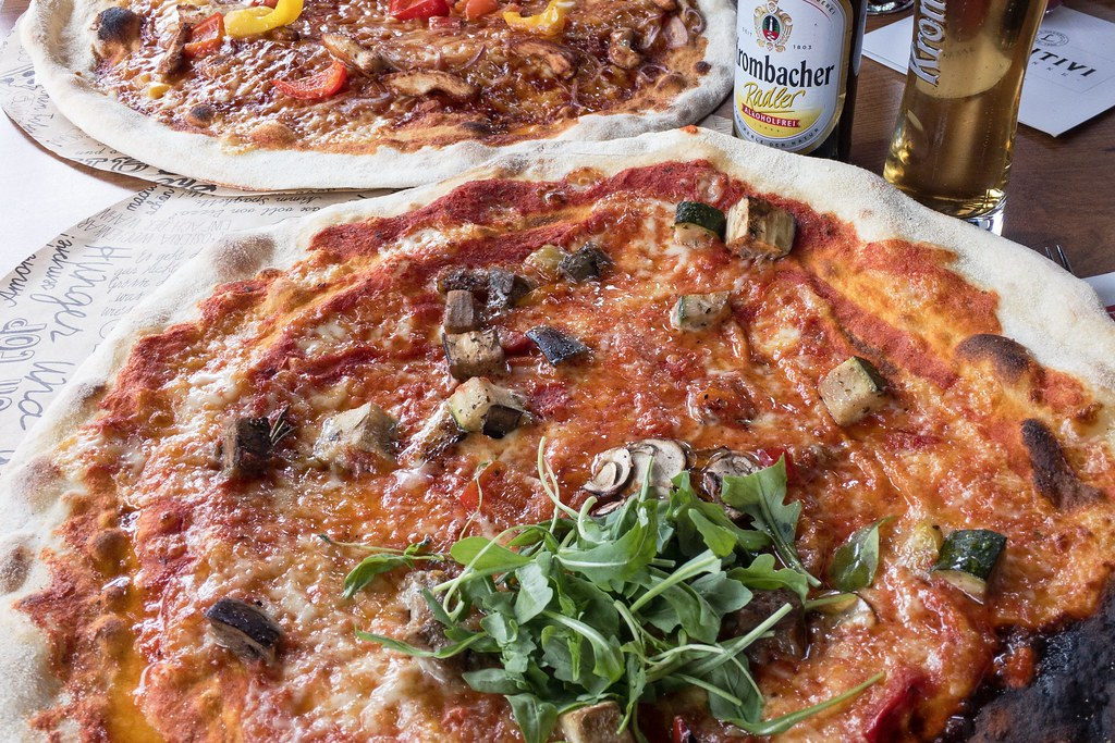 Veggie Pizza in der L'Osteria Köln