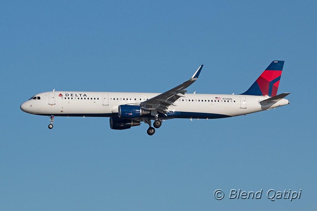 N315DN - A321 - Delta Air Lines
