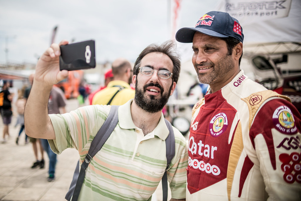 AL ATTIYAH Nasser (qat) ambiance portrait during the European Rally Championship 2017 - Acropolis Rally Of Grece - From June 2 to 4  - Photo Thomas Fenetre / DPPI